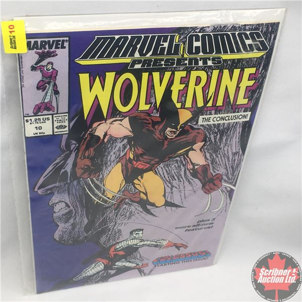 MARVEL COMICS PRESENTS: Wolverine Vol. 1, No. 10, Early January 1989 : Save the Tiger Starring Wolve