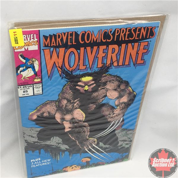 MARVEL COMICS PRESENTS: Wolverine Vol. 1, No. 85, 1991: Blood Hungry - Part One - First Scent