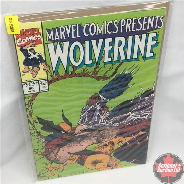 MARVEL COMICS PRESENTS: Wolverine Vol. 1, No. 86, 1991: Blood Hungry - Part Two - Two Scents Worth