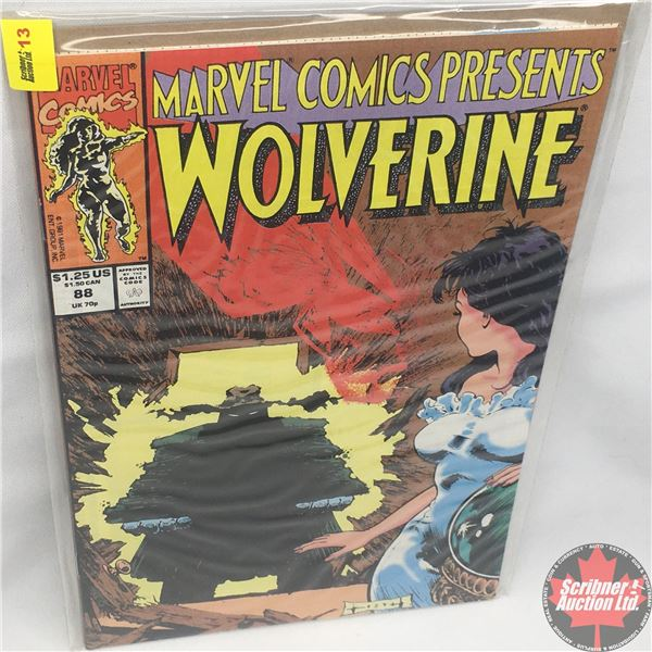 MARVEL COMICS PRESENTS: Wolverine Vol. 1, No. 88, 1991: Wolverine in Blood Hungry - Part 4 - Four Sc