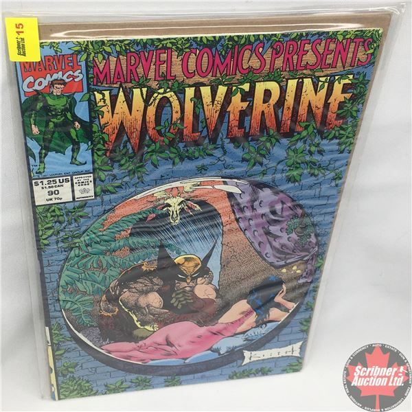 MARVEL COMICS PRESENTS: Wolverine Vol. 1, No. 90, 1991: Wolverine in Blood Hungry - Part Six - Sixth