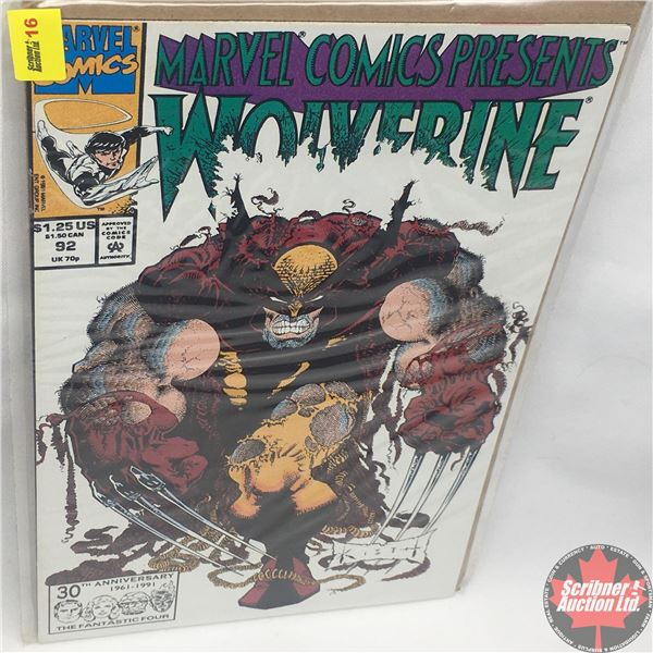 MARVEL COMICS PRESENTS: Wolverine Vol. 1, No. 92, 1991: Wolverine - Blood Hungry - Part Eight- Eight