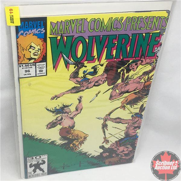 MARVEL COMICS PRESENTS: Wolverine Vol. 1, No. 96, 1991: Wolverine in Wild Frontier - Part IV - Dange
