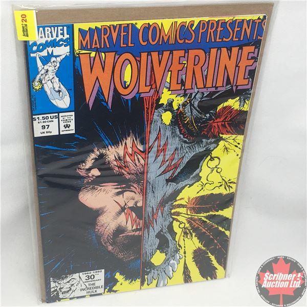MARVEL COMICS PRESENTS: Wolverine Vol. 1, No. 97, 1992: Wolverine in Wild Frontier - Part 5 - Blind