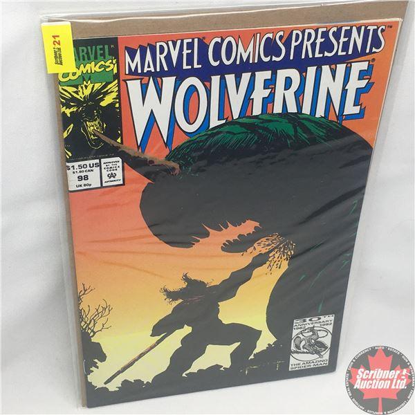 MARVEL COMICS PRESENTS: Wolverine Vol. 1, No. 98, 1992: Wolverine in Wild Frontier - Chapter 6 - Fin