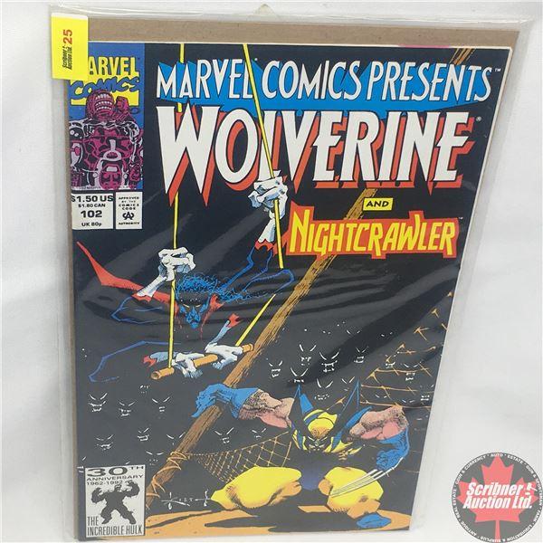 MARVEL COMICS PRESENTS: Wolverine and Nightcrawler Vol. 1, No. 102, 1992: Male Bonding Part 2 - Wher