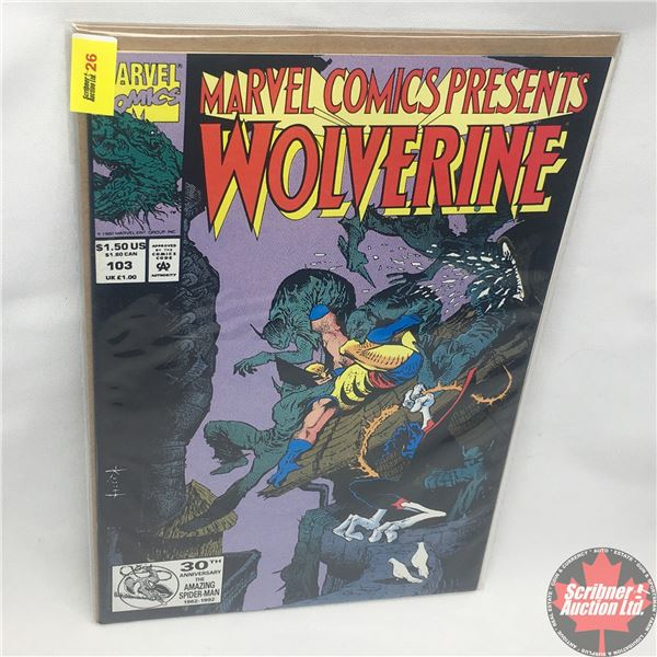 "MARVEL COMICS PRESENTS: Wolverine Vol. 1, No. 103, 1992: Wolverine & Nightcrawler - ""Whatever We Do…"