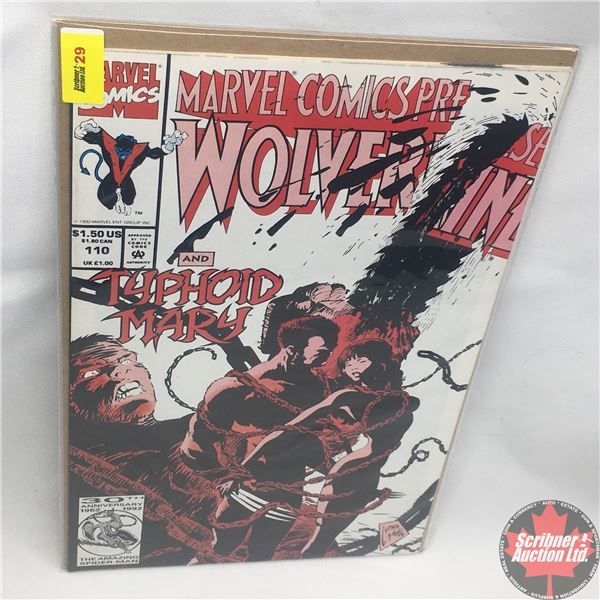 MARVEL COMICS PRESENTS: Wolverine and Typhoid Mary Vol. 1, No. 110, 1992: Typhoid's Kiss - Part 2 -