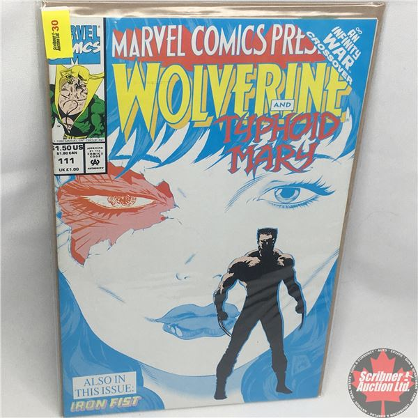 MARVEL COMICS PRESENTS: Wolverine and Typhoid Mary Vol. 1, No. 111, 1992: Typhoid's Kiss - Part 3 -