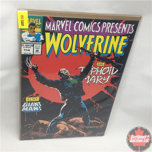 MARVEL COMICS PRESENTS: Wolverine and Typhoid Mary Vol. 1, No. 114, 1992: Typhoid's Kiss - Part VI -