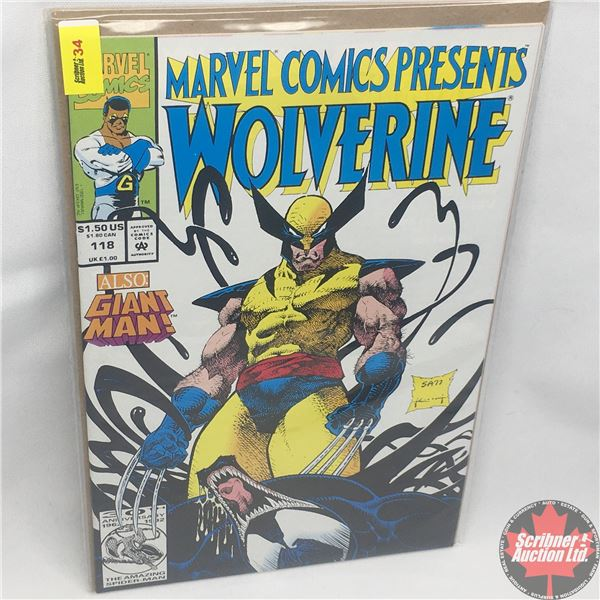 MARVEL COMICS PRESENTS: Wolverine Vol. 1, No. 118, 1992: Claws and Webs - Part 2 of 6 - Dreams are M