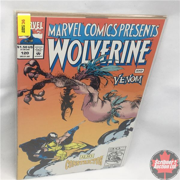 MARVEL COMICS PRESENTS: Wolverine and Venom Vol. 1, No. 120, 1993: Claws and Webs - Pt. 4 - Dreaming