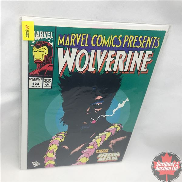 MARVEL COMICS PRESENTS: Wolverine Vol. 1, No. 132, 1993: Wolverine and Cyber in Brothers in Arms - P