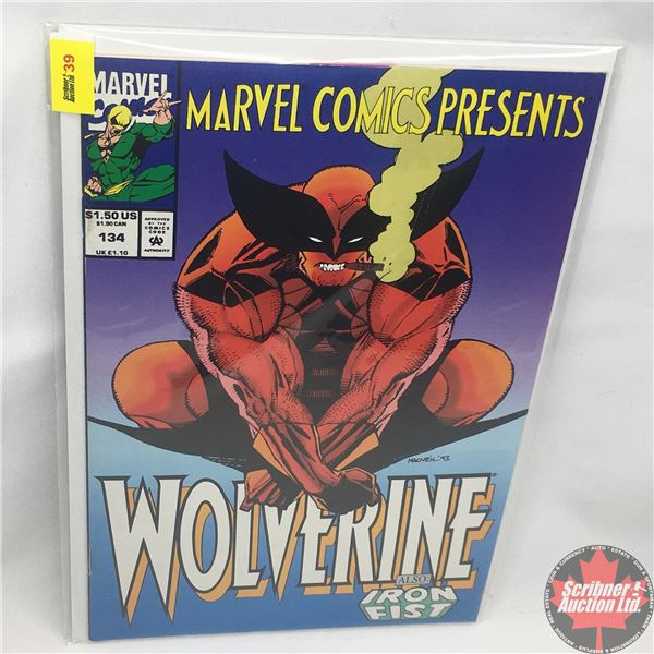 MARVEL COMICS PRESENTS: Wolverine also: Iron Fist Vol. 1, No. 134, Early August 1993: Brothers in Ar
