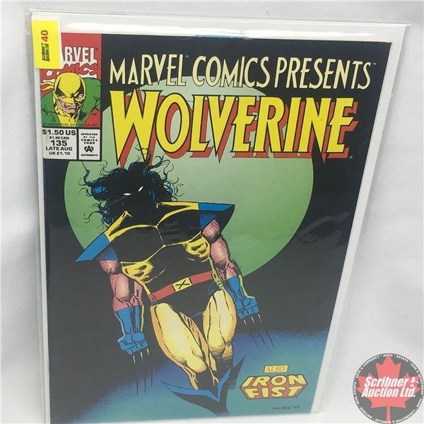 MARVEL COMICS PRESENTS: Wolverine also Iron Fist Vol. 1, No. 135, Late August 1993: Brothers in Arms
