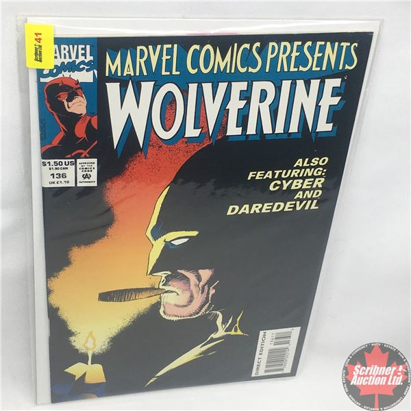 MARVEL COMICS PRESENTS: Wolverine Vol. 1 No. 136, Early September 1993: Brothers in Arms - Part 5 -