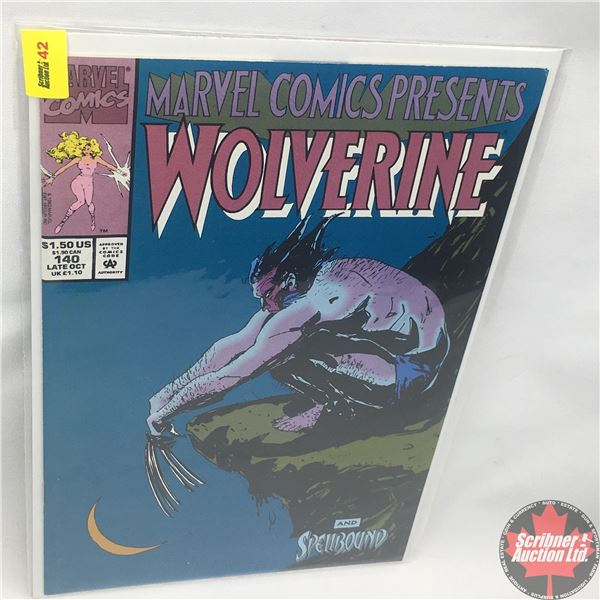 MARVEL COMICS PRESENTS: Wolverine and Spellbound Vol. 1, No. 140, Late October 1993: Rumble in the J