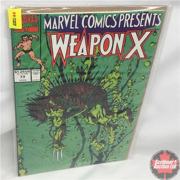 MARVEL COMICS PRESENTS: Weapon X  Vol. 1, No. 73, 1991:  Chapter One