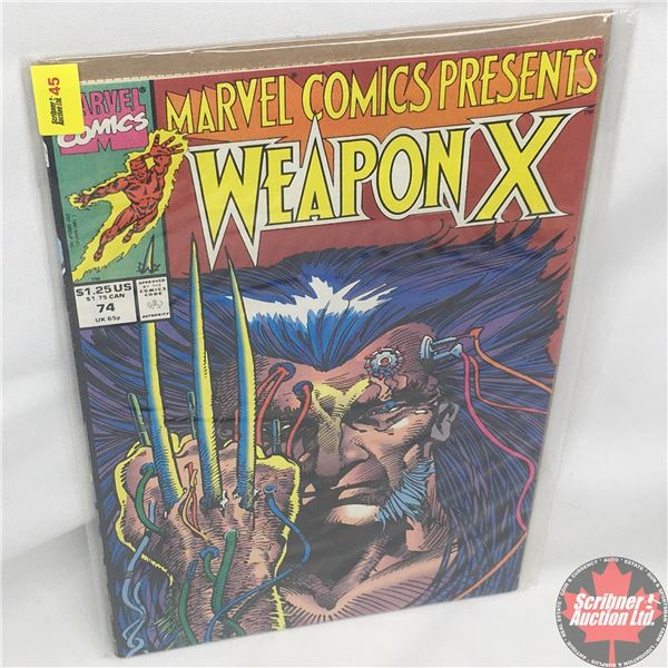 MARVEL COMICS PRESENTS: Weapon X  Vol. 1, No. 74, 1991:  Chapter Two