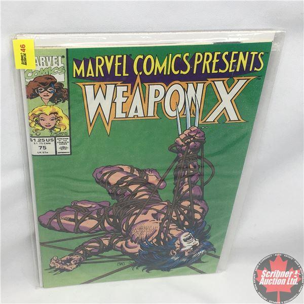MARVEL COMICS PRESENTS: Weapon X  Vol. 1, No. 75, 1991:  Chapter Three