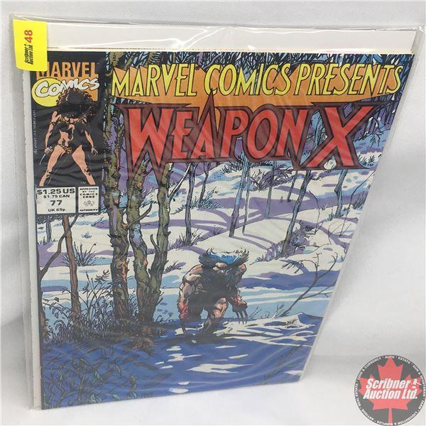 MARVEL COMICS PRESENTS: Weapon X  Vol. 1, No. 77, 1991:  Chapter Five
