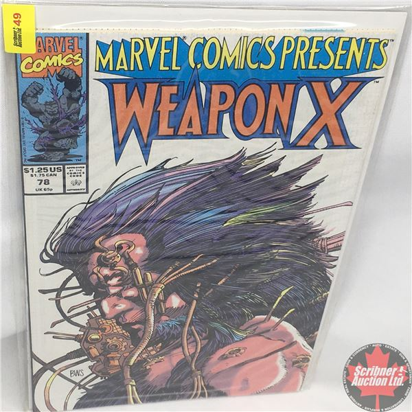 MARVEL COMICS PRESENTS: Weapon X  Vol. 1, No. 78, 1991:  Chapter Six