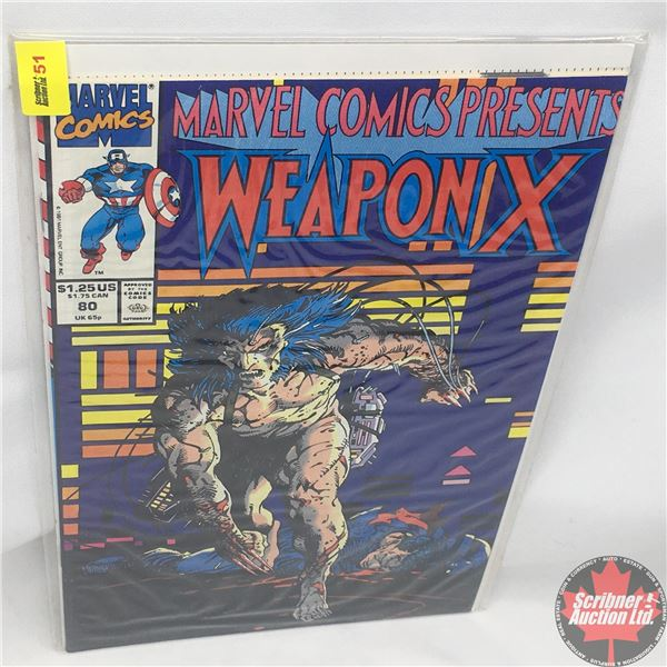 MARVEL COMICS PRESENTS: Weapon X  Vol. 1, No. 80, 1991:  Chapter Eight