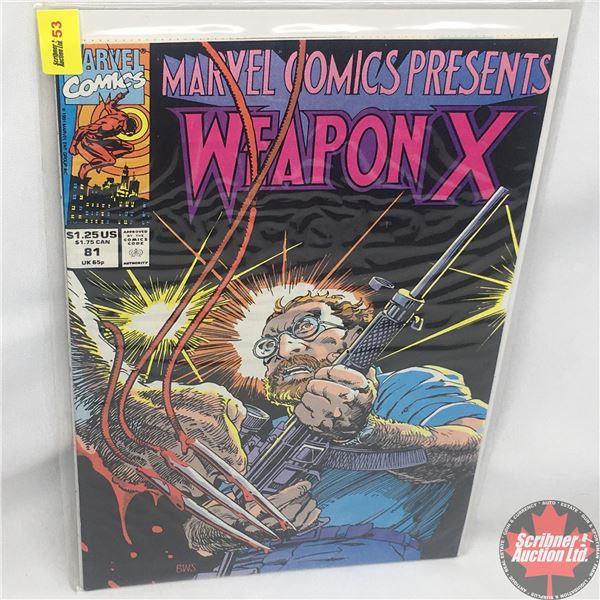 MARVEL COMICS PRESENTS: Weapon X  Vol. 1, No. 81, 1991:  Chapter Nine