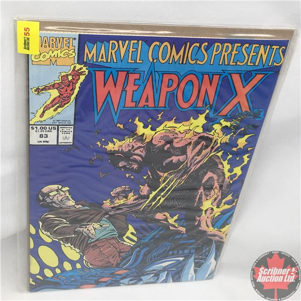 MARVEL COMICS PRESENTS: Weapon X  Vol. 1, No. 83, 1991:  Chapter Eleven
