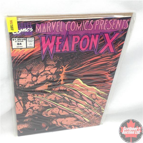 MARVEL COMICS PRESENTS: Weapon X  Vol. 1, No. 84, 1991:  Chapter Twelve