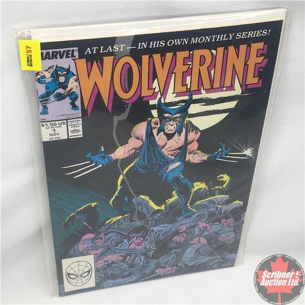 MARVEL: Wolverine 1, November 1988 : Sword Quest