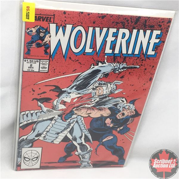 MARVEL: Wolverine 2, December 1988 : Possession is the Law