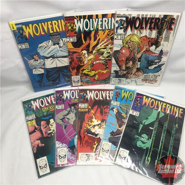 Combo (8): MARVEL: Wolverine 8, June 1989 : Stan Lee Presents: If It Ain't Broke--! & MARVEL: Wolver