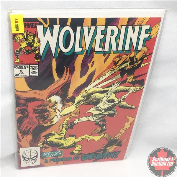 MARVEL: Wolverine 9, July 1989 : Stan Lee Presents: Promises to Keep