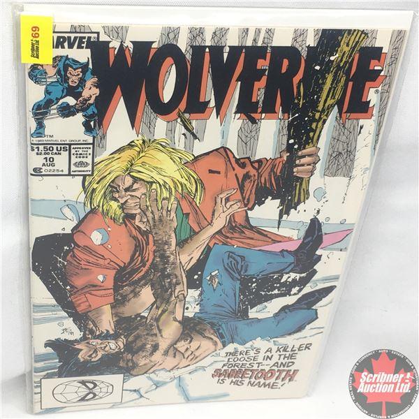 MARVEL: Wolverine 10, August 1989 : Stan Lee Presents: 24 Hours