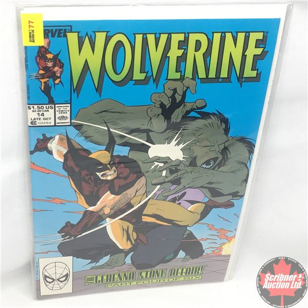 MARVEL: Wolverine 14, Late October 1989: The Gehenna Stone Affair - Part 4 of 6: Stan Lee Presents: