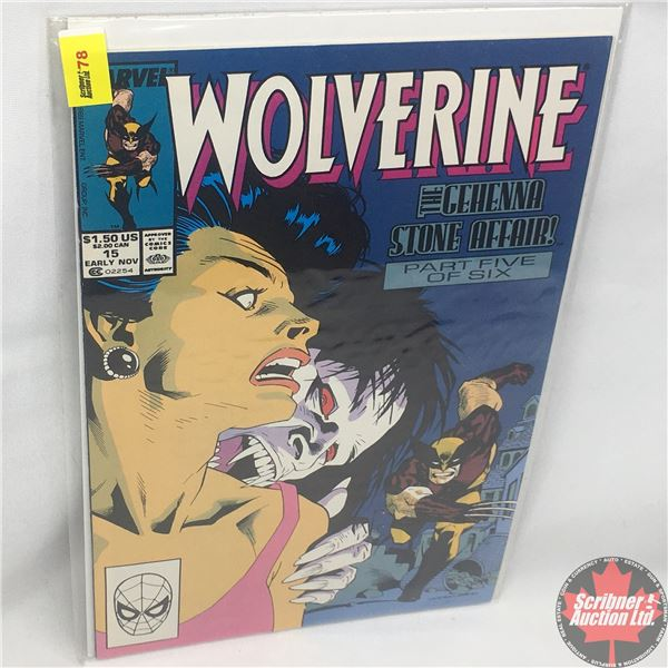 MARVEL: Wolverine 15, Early November 1989: The Gehenna Stone Affair - Part 5 of 6: Stan Lee Presents