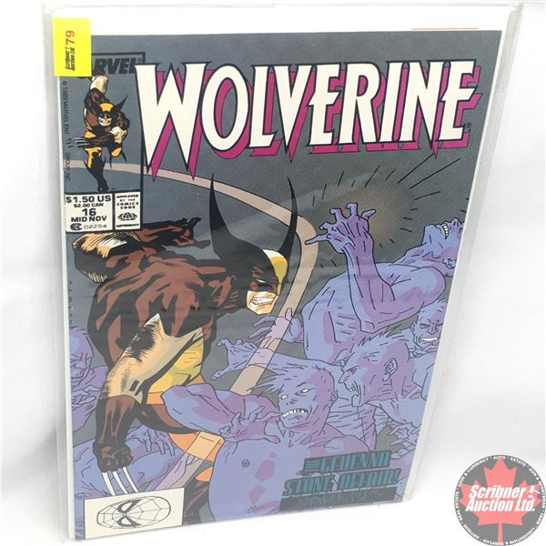 MARVEL: Wolverine 16, Mid November 1989: The Gehenna Stone Affair - Part 6 of 6: Electric Warriors