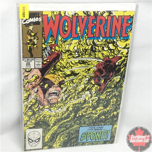 MARVEL: Wolverine 22, March 1990:  Stan Lee Presents: Outburst