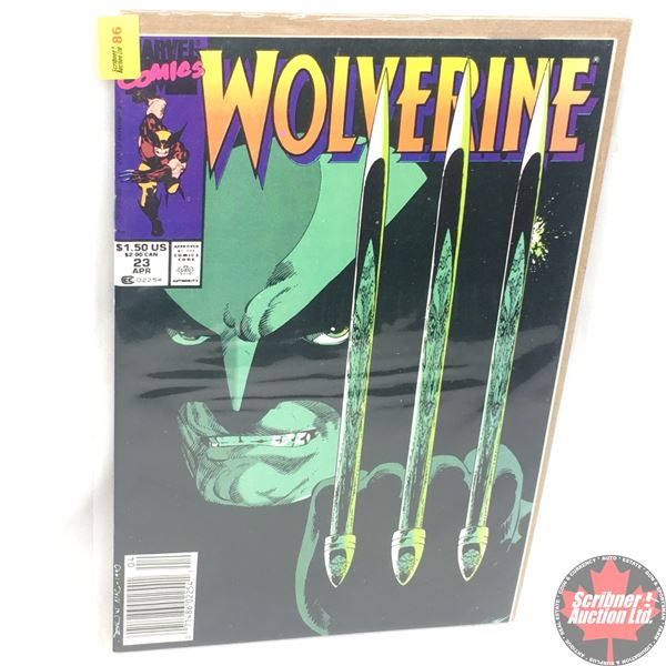 MARVEL: Wolverine 23, April 1990:  Stan Lee Presents: Endings