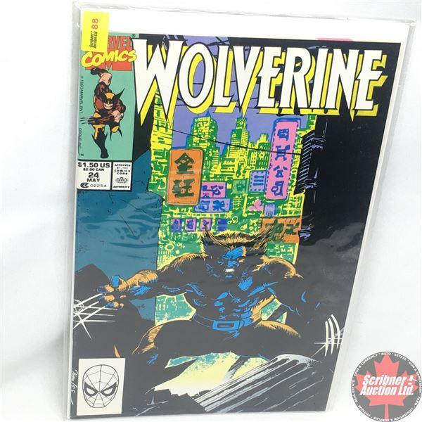 MARVEL: Wolverine 24, May 1990:  Snow Blind
