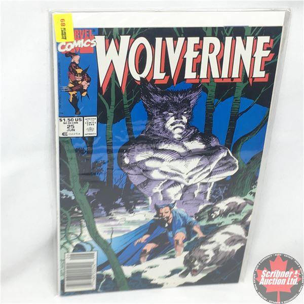 MARVEL: Wolverine 25, June 1990:  Stan Lee Presents: Heir Aid