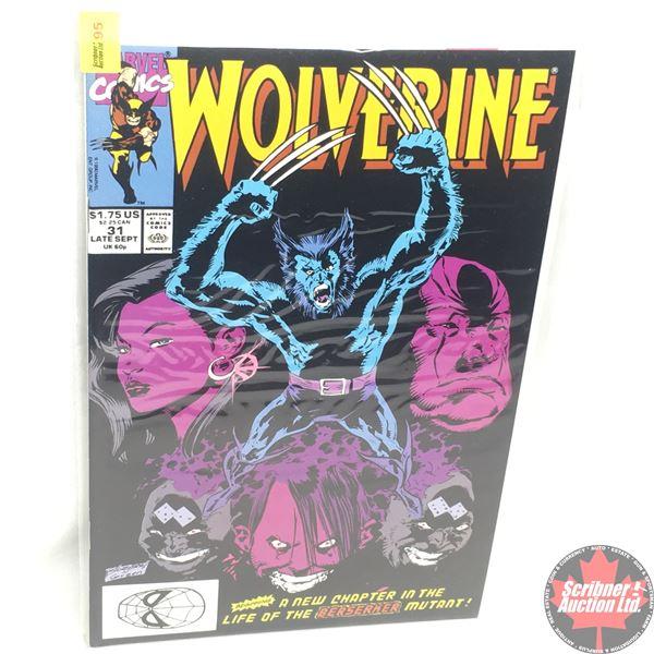 MARVEL: Wolverine 31, Late September 1990: Killing Zone