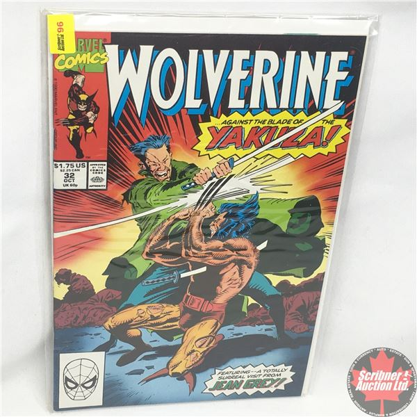 MARVEL: Wolverine 32, October 1990: Terminal Trauma
