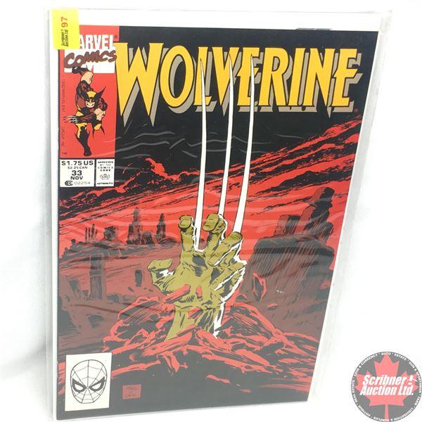 MARVEL: Wolverine 33, November 1990: Grave Undertakings