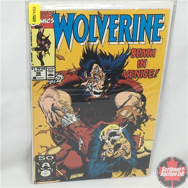 MARVEL: Wolverine 38, April 1991: Death In Venice - Stan Lee Presents: See Venice & Die