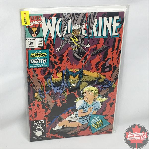 MARVEL: Wolverine 39, May 1991: Stan Lee Presents: Deconstruction