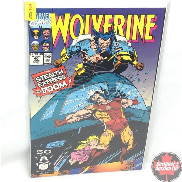 MARVEL: Wolverine 40, June 1991: The Stealth Express of Doom - Reconstruction
