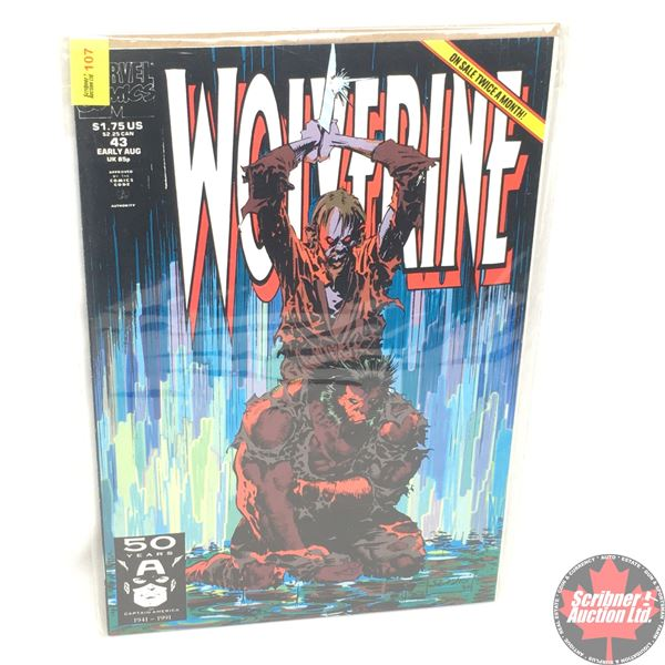 MARVEL: Wolverine 43, Early August 1991: Stan Lee Presents:  Under The Skin