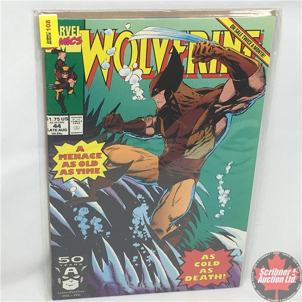MARVEL: Wolverine 44, Late August 1991: Stan Lee Presents: Babes At Sea